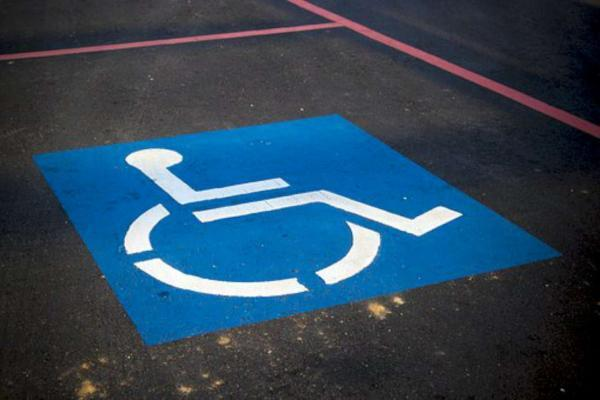 place handicapé parking
