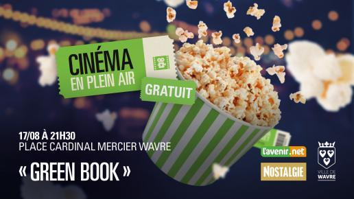 cinéma en plein air 2019 GREEN BOOK
